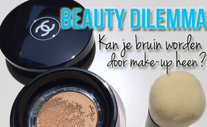 Beauty dilemma - kun je bruin worden door make-up heen?