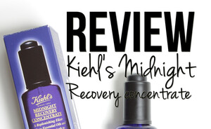 Video review - Kiehl's Midnight Recovery Concentrate