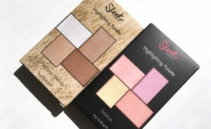 Sleek Highlighting Palette Soltice & Precious Metals - swatches