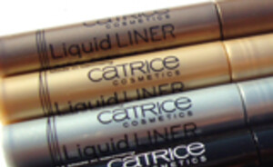 Catrice Liquid eye liners - review & swatches