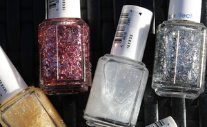 Essie Luxeffects topcoats swatches- nu vast in de collectie