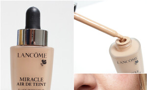 Foundation review - Lancome Miracle Air de teint foundation