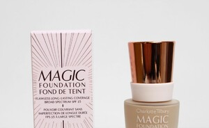 Foundation review - Charlotte Tilbury Magic foundation SPF 15